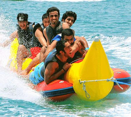Banana Boat Ride in Gokarna Flat 45% off