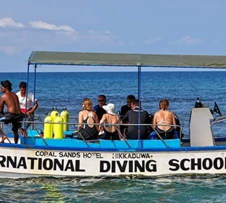 Two Hours Scuba Diving at Hikkaduwa in Sri Lanka
