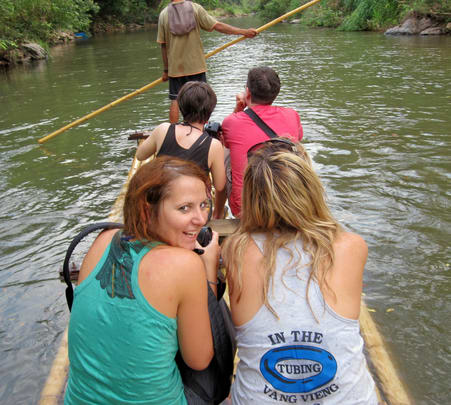 Full Day Trekking & Bamboo Rafting Package