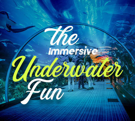 Dubai Aquarium & Underwater Zoo Combo Ticket - Flat 25% off
