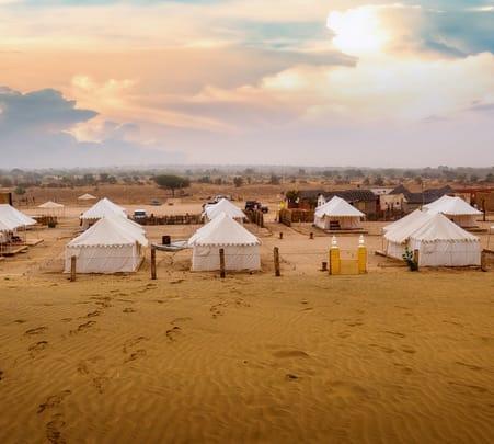 Desert Camping in Jaisalmer with Camel Safari