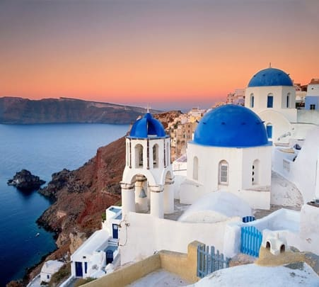 Tour of Santorini in Athens