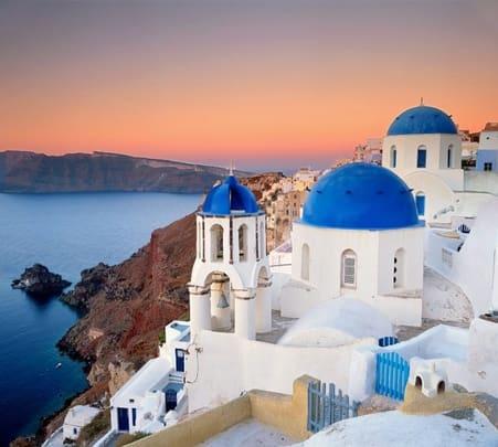 Tour of Santorini in Athens