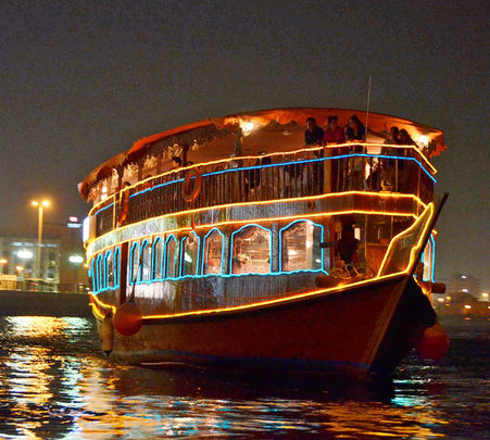Dhow Dinner Cruise in Dubai Marina