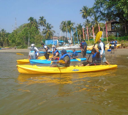Discover Kayaking in Goa