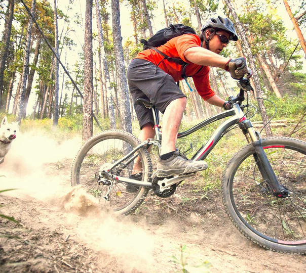Outdoor Mountain Biking in Rishikesh