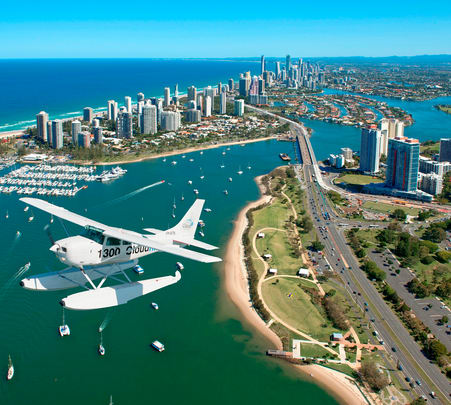 Sea Plane Ride in Goldcoast