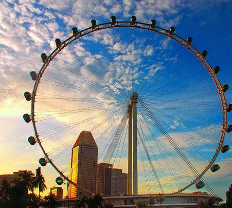 Ticket to Singapore Flyer Ride