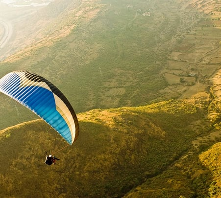 Paragliding in Vagamon-flat 14% off