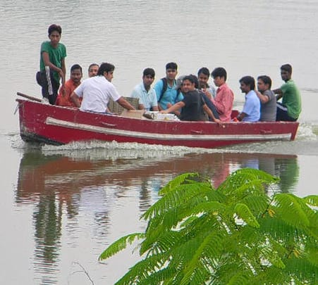 Corporate Team Outing with Adventure Activities at Damdama Lake