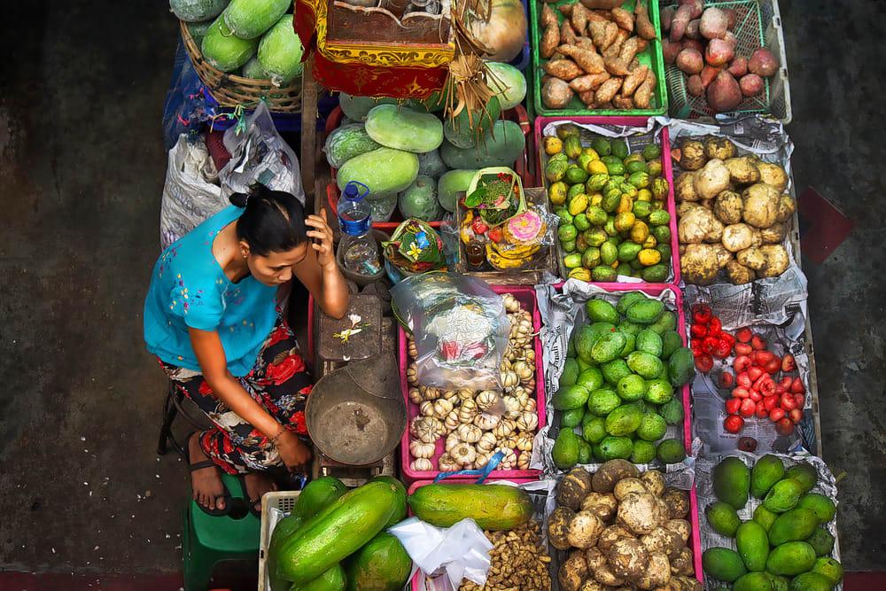 Go Shopping at Pasar Badung Market