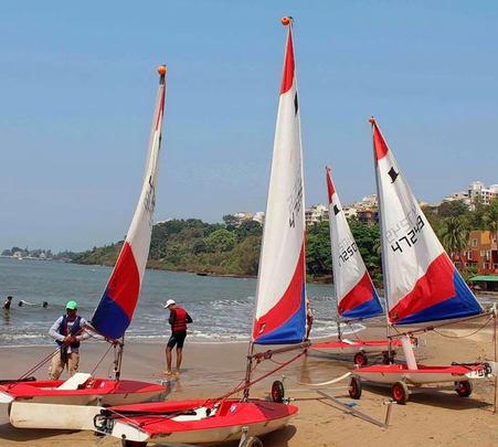 Sailing Tour at Grande Island, Goa