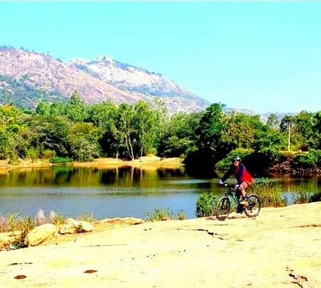 Cycling to Devarayanadurga