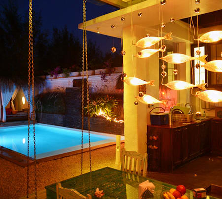 Submerged Pool Dining Experience for a Couple