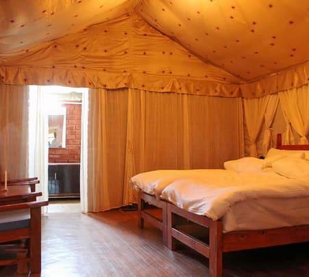 Luxurious Riverside Camping with Activities in Bir