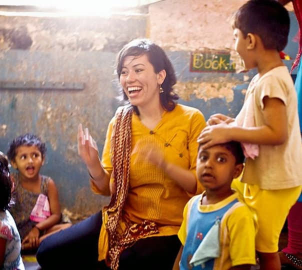 Social Work and Community Visit in Jaipur