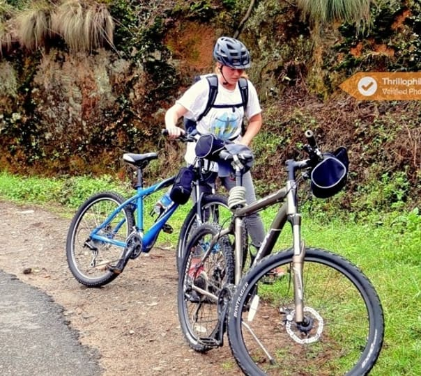 Guided Pro Cycling Tour in Munnar