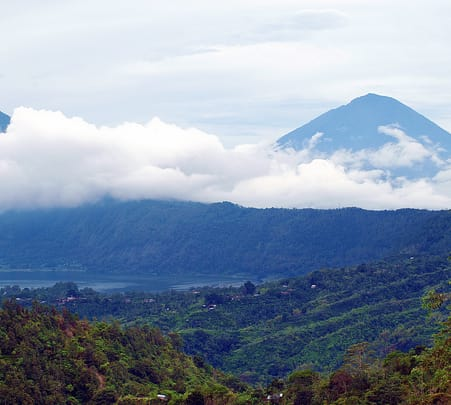 Trekking at Mount Batur Caldera in Ubud