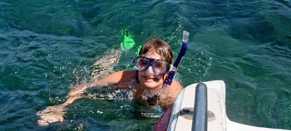 Snorkeling at Sanur in Bali