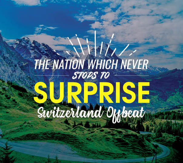 Stunning Switzerland with Cable Car in Alps