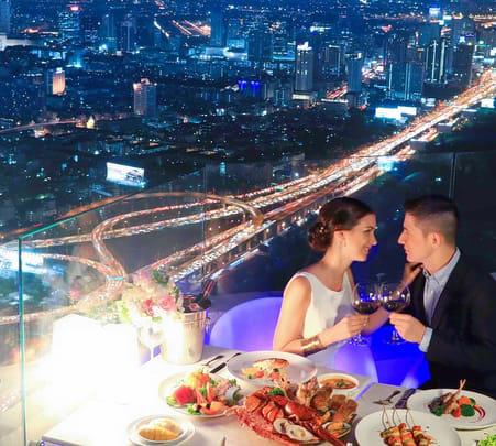Baiyoke Sky Hotel Buffet, Bangkok Flat 20% off