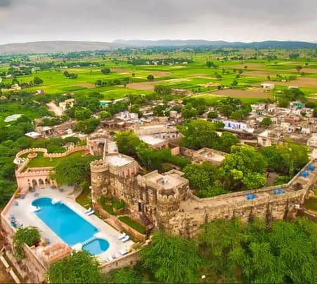 Hill Fort Stay Experience in Alwar, Rajasthan Flat 32% Off