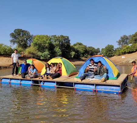 Floating Tent Camping in Kurungwadi (near Lgatpuri )