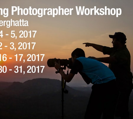 Young Photographer Workshop in Bannerghatta