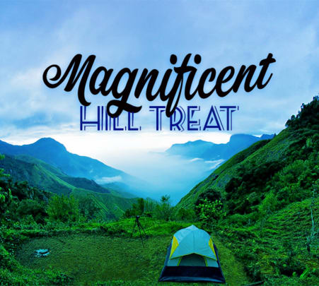 Camping in Munnar with Adventure Activities