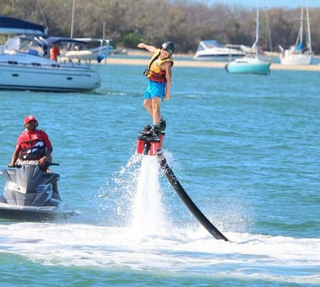 Flyboarding and Parasailing in Gold Coast