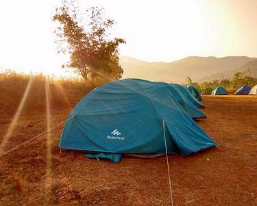 Camping in Velhe near Pune with Torna Fort Trek Flat 36% off