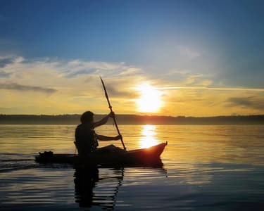 Sunset Back Water Kayaking in Goa - Flat 26% Off