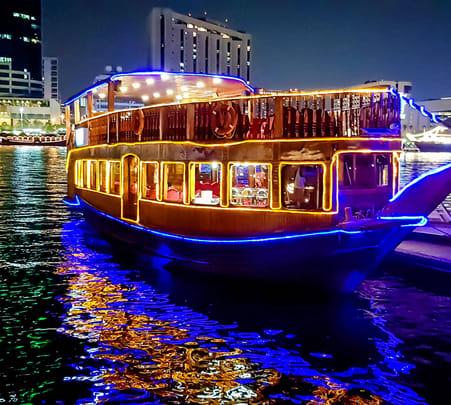 5 Dinner Cruise Abu Dhabi Flat 15% off