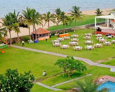 Day Outing at St. James Court Beach Resort, Pondicherry