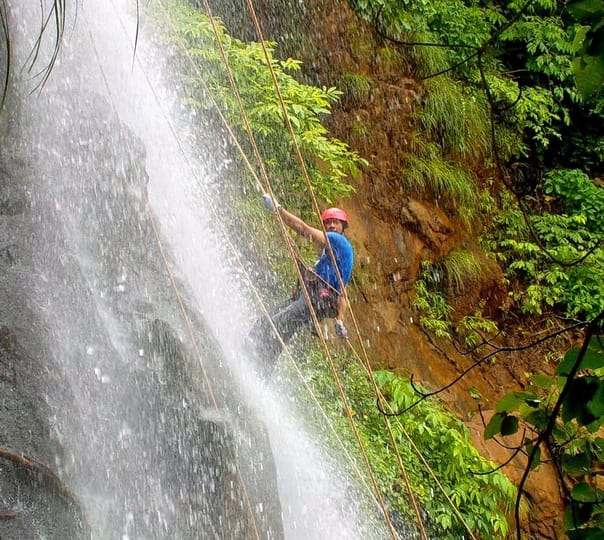 Bekare Waterfall Rappelling, Bhivpuri