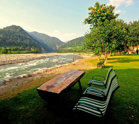 Stay at Ramganga Resort in Jim Corbett