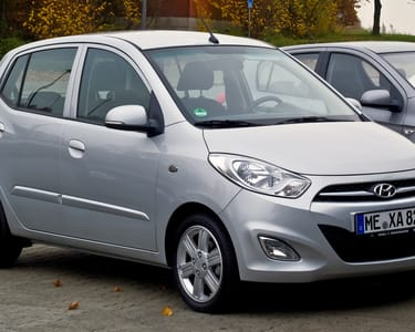 Rent a Hyundai I10 in Goa