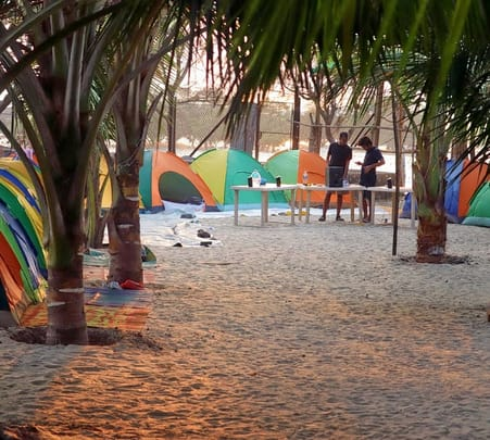 Beach Camping at Alibaug Flat 25% Off