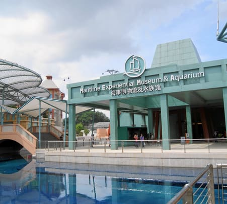 Combo Tour of Maritime Experiential Museum + Sea Aquarium, Singapore