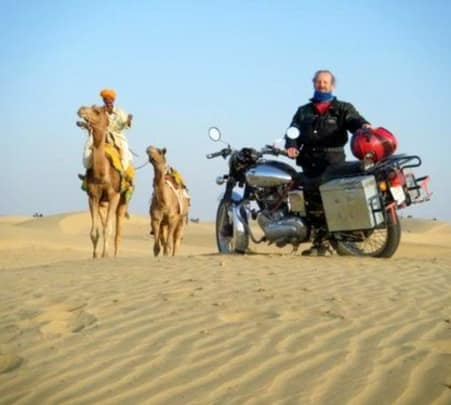 Rent a Royal Enfield in Jaipur
