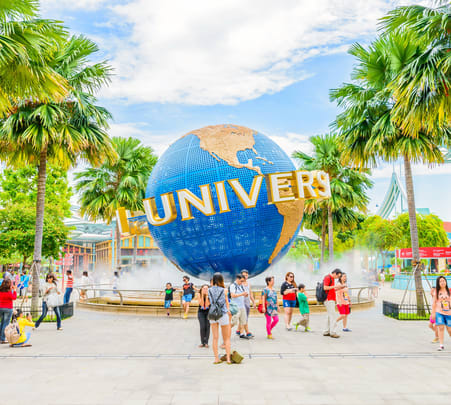 Combo: Singapore Night Safari with Universal Studio Flat 15% off