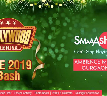 New Year's Eve Party at Smaaash, Ambience Mall, Gurgaon