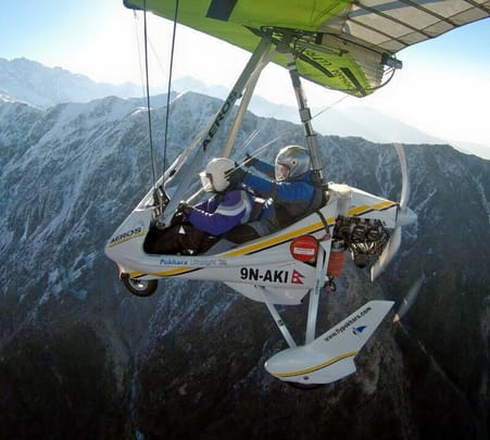Mt.fishtail Microlight Flying