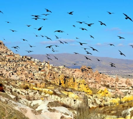 Sightseeing Trip to Cappadocia from Istanbul