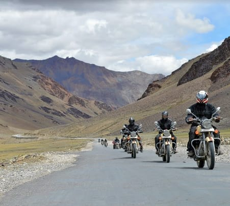 Ladakh Bike Trip For 11 Days