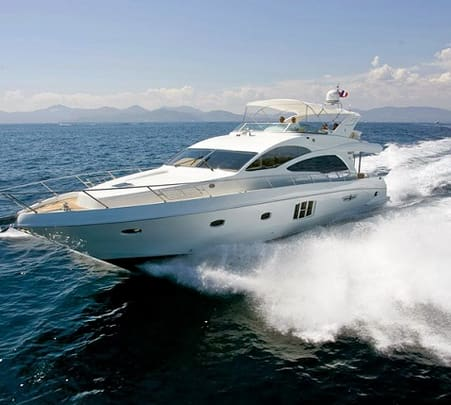 Yacht On Rent in Mumbai- Majesty 66
