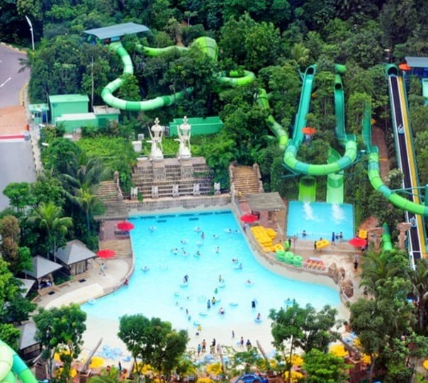 Ticket to Adventure Cove Waterpark in Singapore