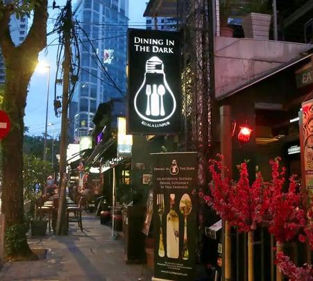 Dining in the Dark, Kuala Lumpur @ Flat 25% off