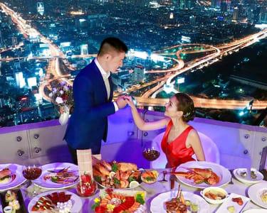 Bangkok Sky Dining Buffet - Flat 35% off