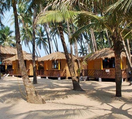 Beach Stay at Sevas Beach Huts in Goa